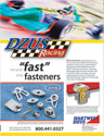 Dzus Racing Ad :: Print Advertising
