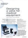 Medical Valves :: Feature Articles